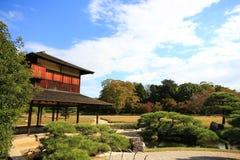 房子日本传统 免版税图库摄影