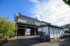房子日本传统 免版税库存图片