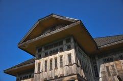 房子木头 免版税库存图片