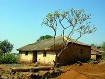 房子村庄 免版税图库摄影