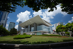 房子歌剧上海 免版税库存照片