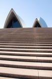 房子歌剧步骤悉尼 免版税库存图片