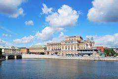 房子歌剧皇家斯德哥尔摩 免版税库存图片