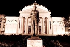 房子歌剧罗马尼亚语 免版税图库摄影