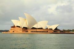 房子歌剧配置文件南悉尼 免版税图库摄影