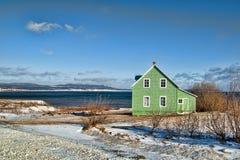 房子海岸 库存照片