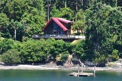 房子海边 免版税库存图片