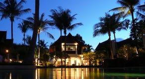 房子热带水 免版税图库摄影