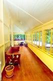 房子热带游廊 免版税库存照片