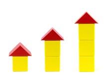 房子玩具 免版税库存图片