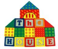 房子玩具 库存图片