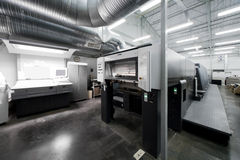 房子现代打印 免版税库存照片
