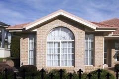 房子现代郊区 免版税图库摄影