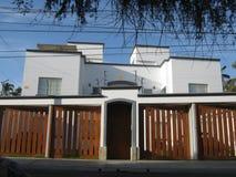 房子现代白色 库存图片