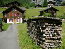 房子瑞士 图库摄影