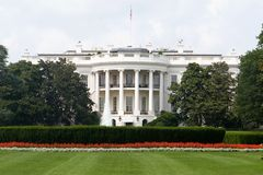 房子白色 库存照片