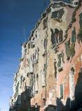 房子的反映在里约Ca Di Dio 免版税库存图片