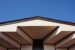 房子的屋顶设计在Chacheongsao 库存图片