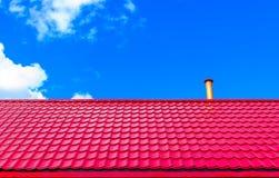 房子的屋顶 库存照片