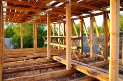 房子的新建工程 库存图片