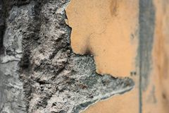 房子的残破的角落 免版税库存照片