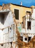 房子的爆破 免版税库存图片