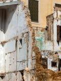房子的爆破 库存照片