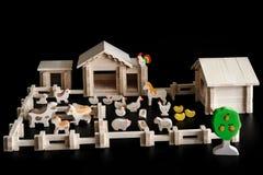 房子的玩具模型 免版税库存图片