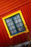 房子的窗口看法  图库摄影