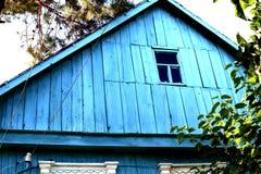 房子的顶楼 免版税库存照片