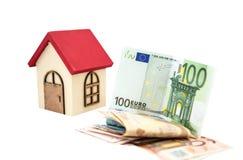 房子的货币 库存图片