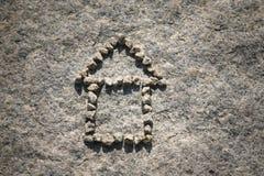 房子石头 图库摄影