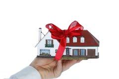 房子礼物 免版税库存图片