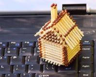 房子移动电话 免版税库存图片