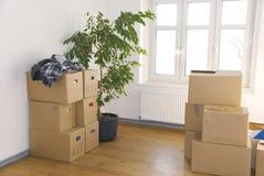 房子移动 免版税库存图片