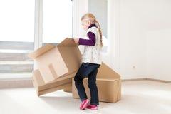 房子移动 免版税库存照片