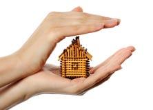 房子符合 免版税库存照片