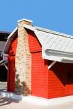 房子红色 图库摄影
