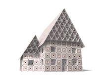 房子纸板 免版税图库摄影