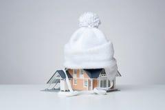 房子绝缘材料 免版税库存图片