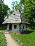 房子罗马尼亚传统 库存图片