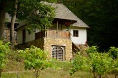 房子罗马尼亚传统 免版税库存照片