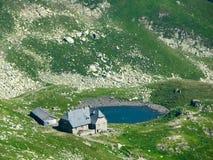 房子罗马尼亚游人 免版税库存照片