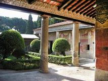 房子罗马的庞贝城 免版税库存图片