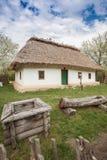 房子老乌克兰语 免版税库存图片
