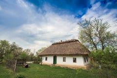 房子老乌克兰语 免版税库存照片