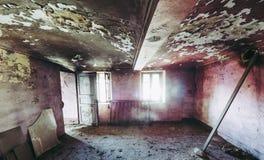 房子老废墟 免版税库存图片