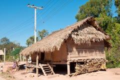 房子老挝传统 库存照片