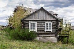 房子老木 免版税库存照片