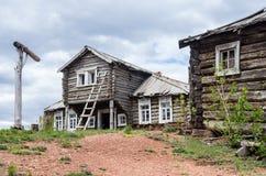 房子老木 免版税图库摄影